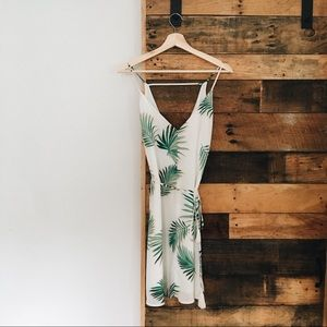 Palm Leaf Dress